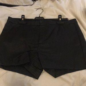 Banana republic faux leather shorts size 10